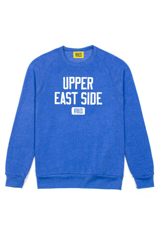Upper East Side Crewneck in Blue