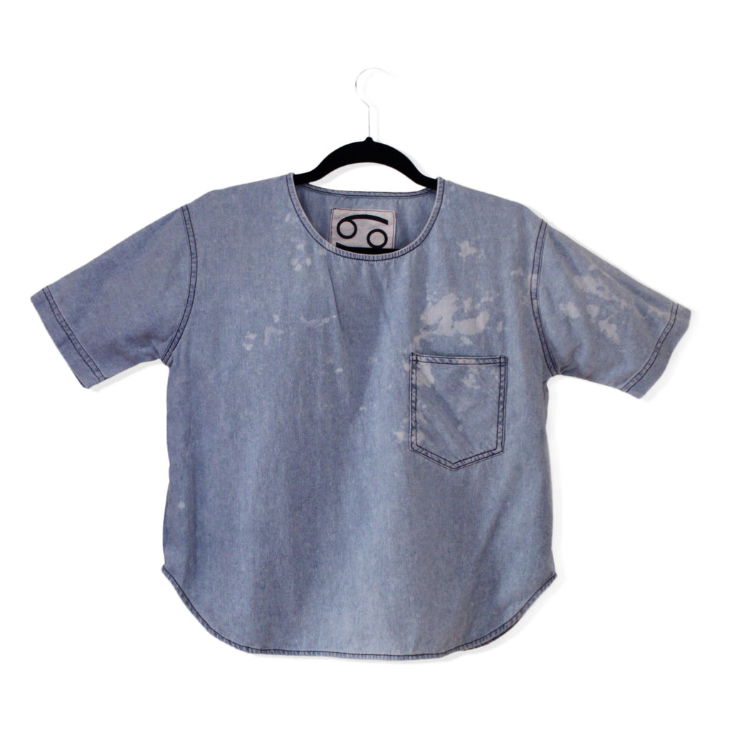 Denim T- Shirt