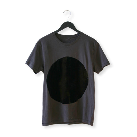 Velvet Circle T Shirt in Black