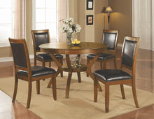 Load image into Gallery viewer, Nelms Casual Deep Brown Dining Chair