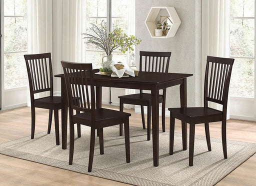 Oakdale Casual Cappuccino Five-Piece Dinette Set image
