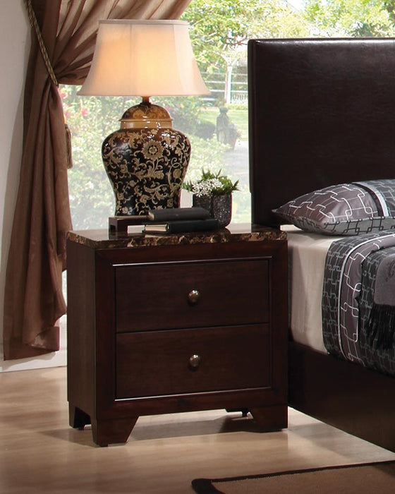 Conner Casual Two-Drawer Nightstand image