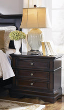 Load image into Gallery viewer, Cambridge Three-Drawer Nightstand