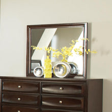 Load image into Gallery viewer, Jaxson Transitional Cappuccino Dresser Mirror