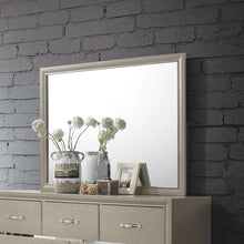 Load image into Gallery viewer, Beaumont Transitional Champagne Mirror