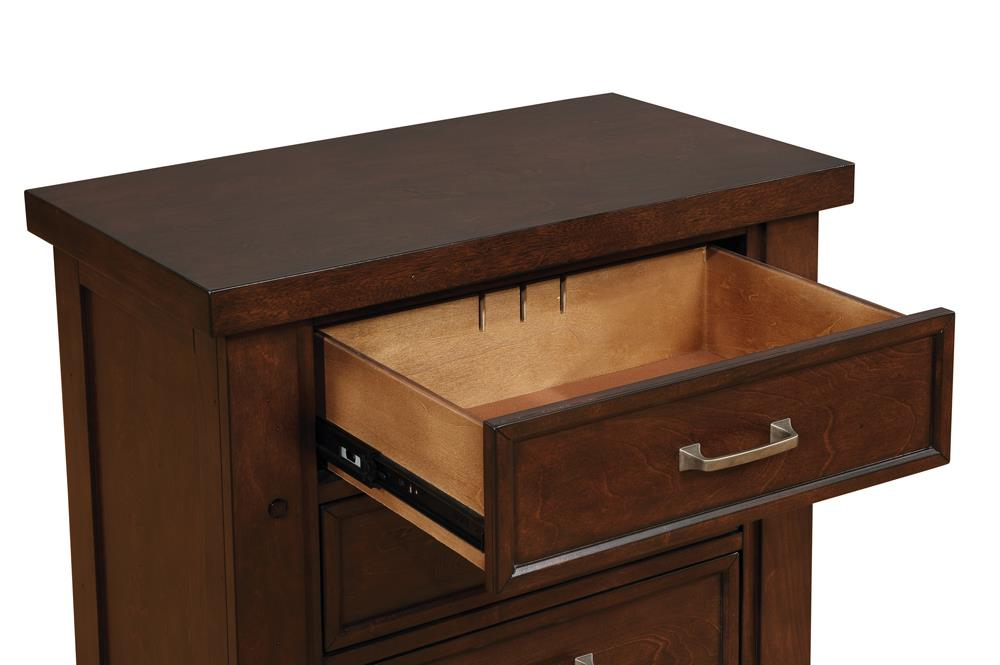 Barstow Transitional Pinot Noir Nightstand image