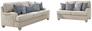 Traemore Benchcraft Sofa 2-Piece Upholstery Package