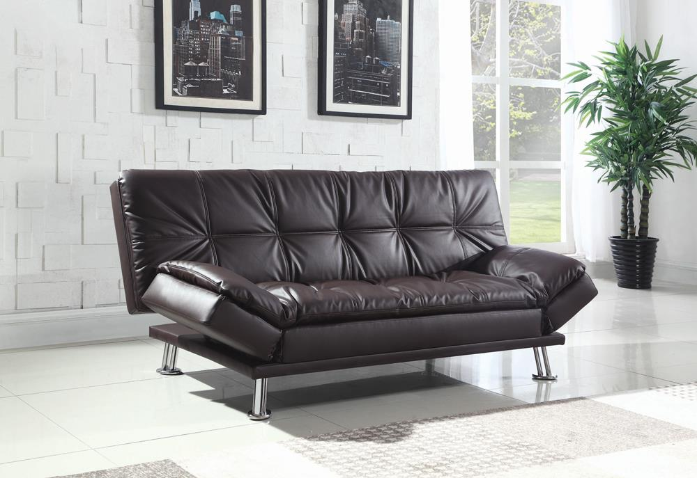 Dilleston Contemporary Brown Sofa Bed image