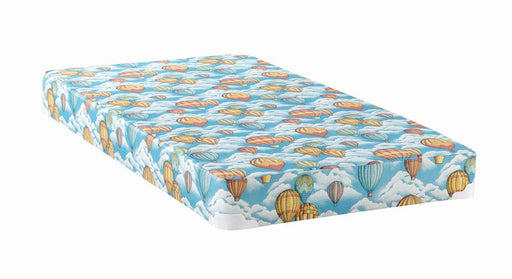 Balloon Blue Patterned Full Mattress image