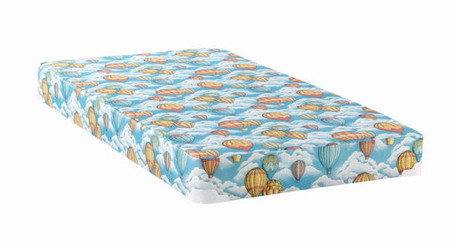 Balloon Blue Patterned Twin Mattress image