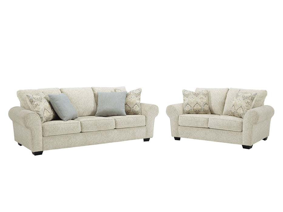 Haisley Benchcraft 2-Piece Living Room Set