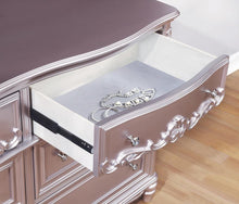 Load image into Gallery viewer, Caroline Metallic Lilac Dresser