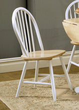 Load image into Gallery viewer, Country Two-Tone Natural Wood Dining Chair