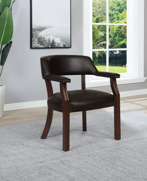 Modern Brown Office Chair image