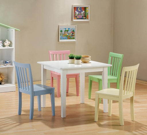 Rory Five-Piece Youth Table and Chairs image