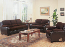 Load image into Gallery viewer, Monika Transitional Chocolate Sofa