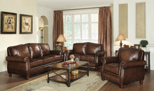 Load image into Gallery viewer, Montbrook Traditional Hand Rubbed Brown Sofa