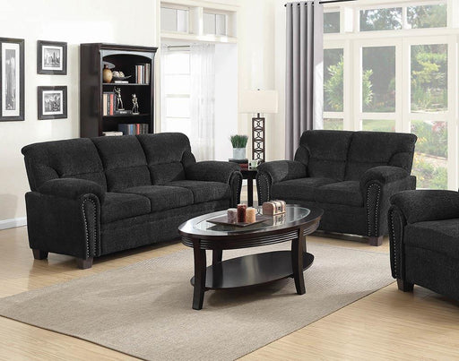 Clemintine Grey Two-Piece Living Room Set image