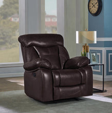 Load image into Gallery viewer, Zimmerman Casual Dark Brown Glider Recliner