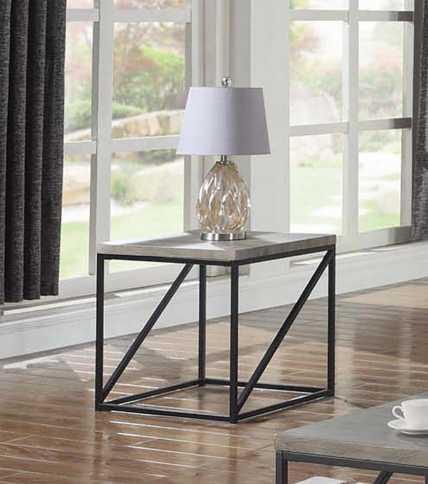 Industrial Sonoma Grey End Table image