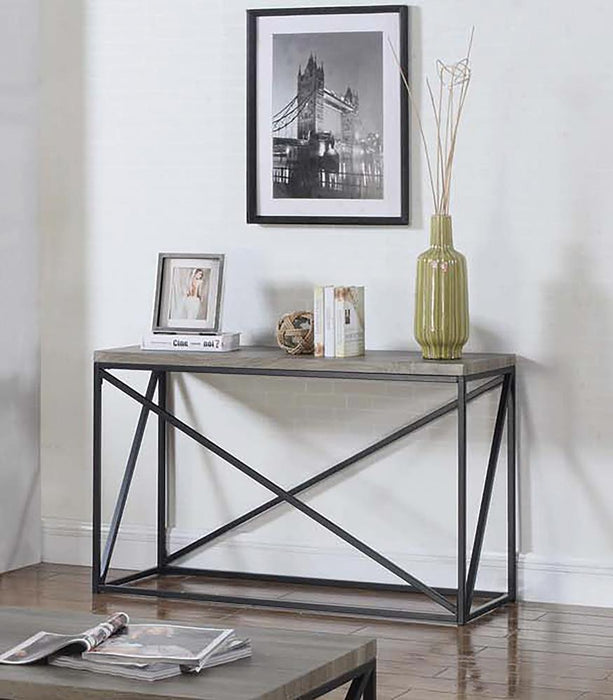 Industrial Sonoma Grey Sofa Table image