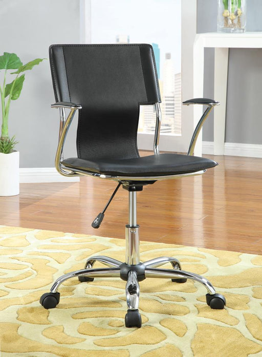 G800207 Contemporary Black Adjustable Office Chair image