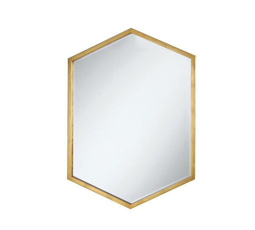 Unique Hexagon Shaped Mirror image