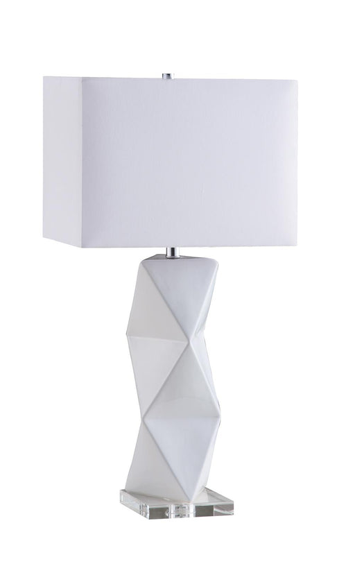 Transitional White Table Lamp image