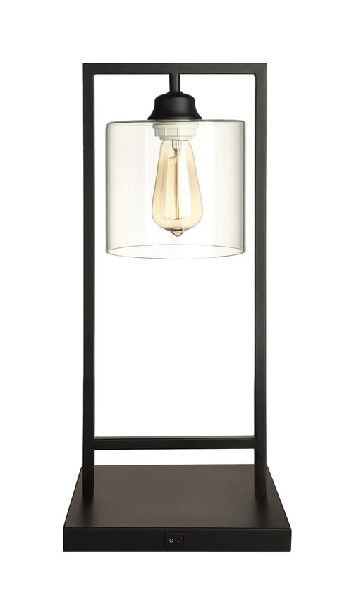 Transitional Black Table Lamp image