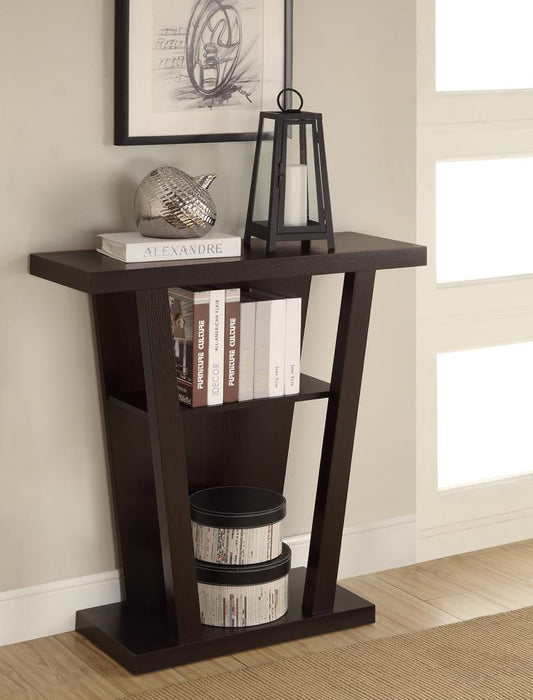 Cappuccino Accent Console Table image