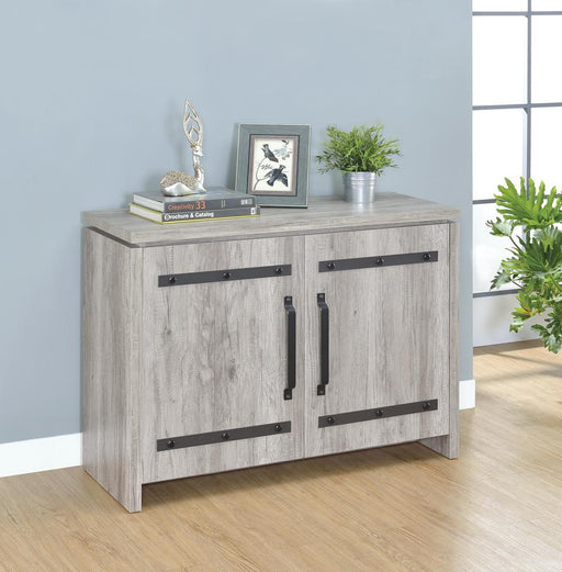 Rustic Grey Accent Cabinet image