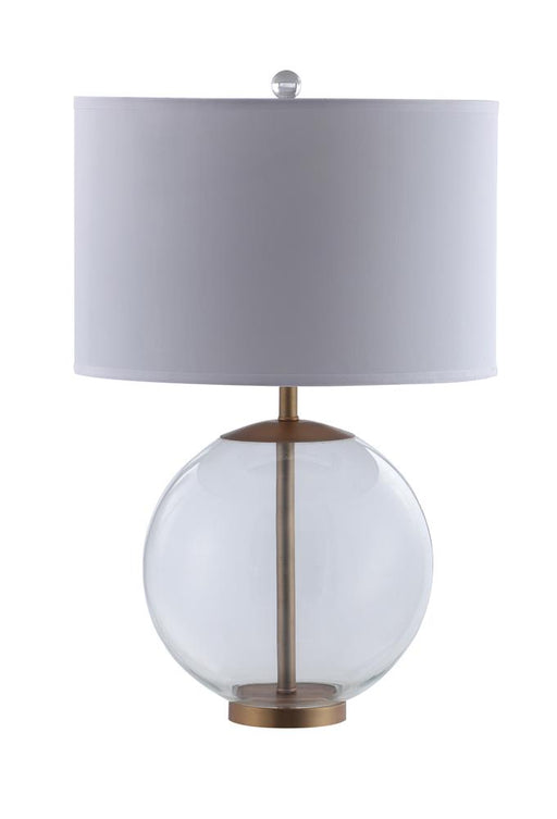 White and Clear Table Lamp image