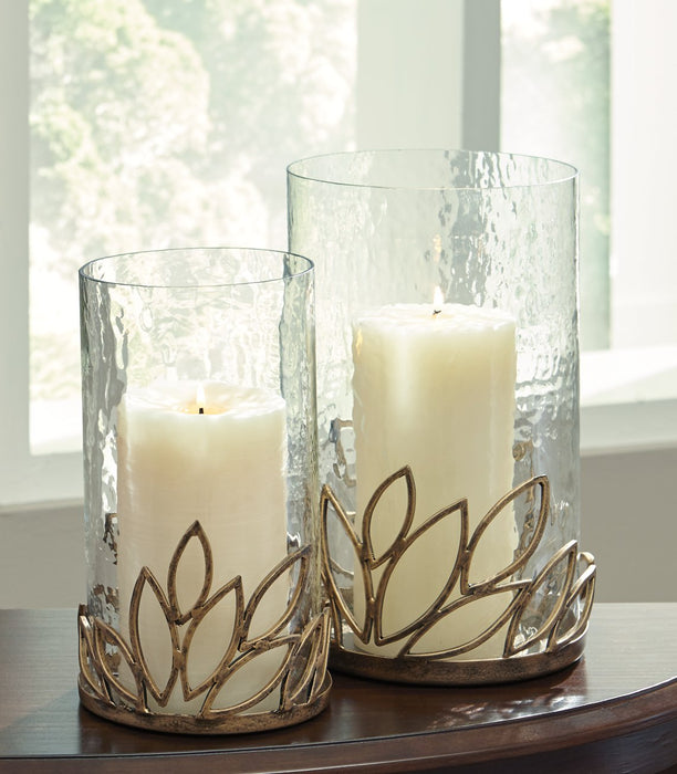 Pascal Signature Design by Ashley Candle Holder