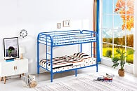 T/T Blue Metal Bunk Bed
