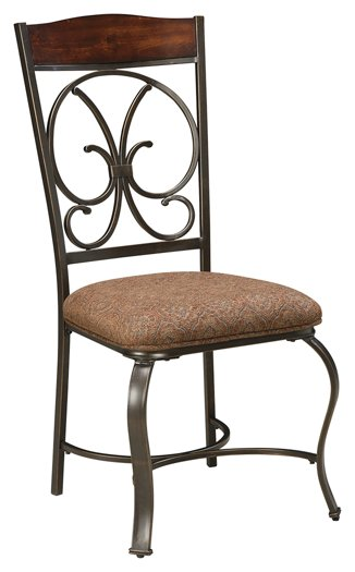 Glambrey Signature Design 4-Piece Dining Room Chair Package