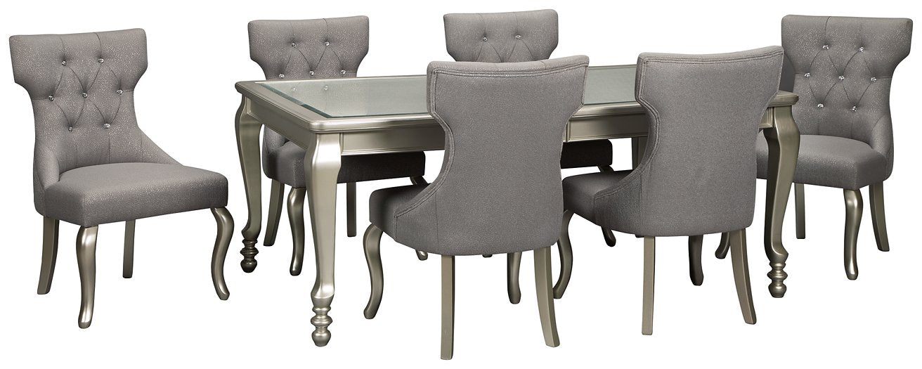 Coralayne Signature Design 7-Piece Dining Room Package