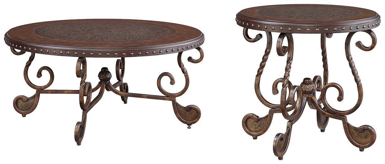 Rafferty Signature Design 2-Piece Table Set