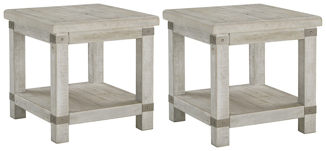 Carynhurst Signature Design 2-Piece End Table Set