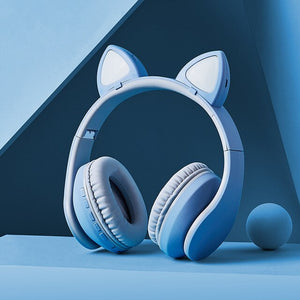 New Cat Headphones With LED