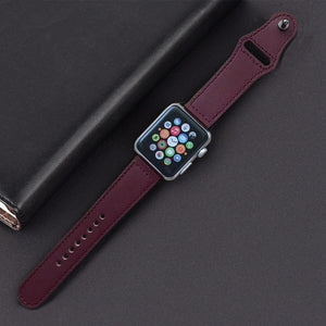 Leather Straps Apple Watch