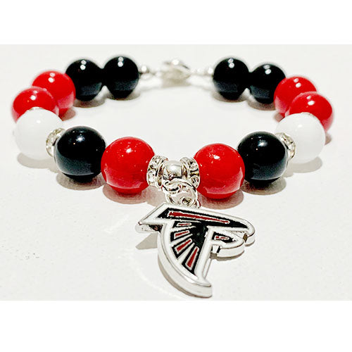Falcons Inspired Gemstone Bracelet