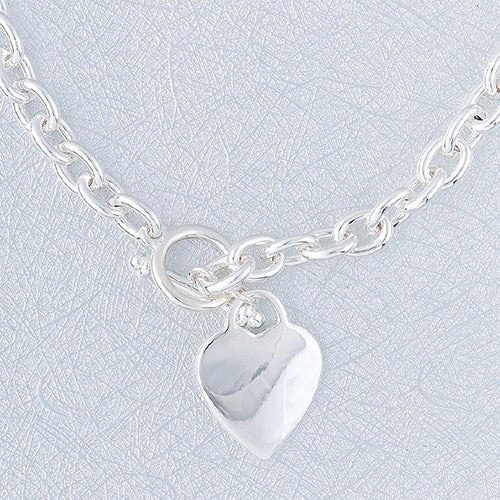 Heart Tag Necklace