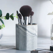 Ingrid Marble Brush Holder