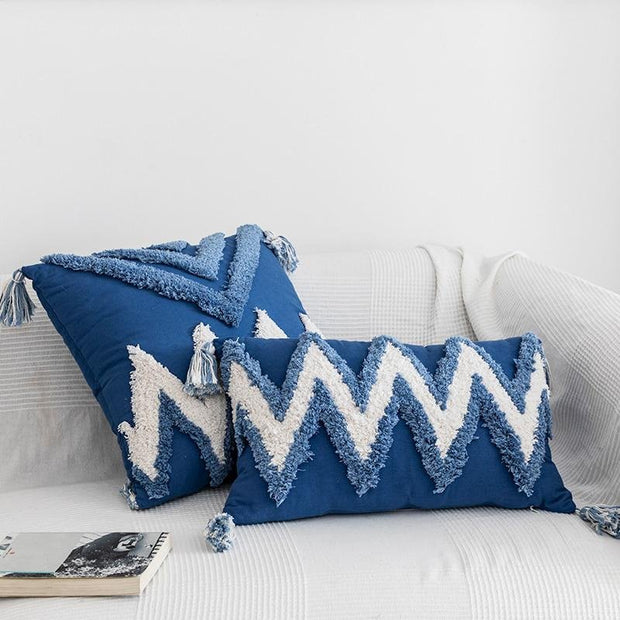 Adilah Tufted Throw Pillow Cover - Unwindin