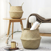 Alexis Seagrass Storage & Planter Basket