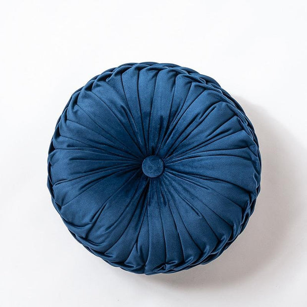 Cadence Velvet Pleated Cushion - Unwindin