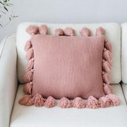 Dhara Knit Throw Pillow Cover - Unwindin