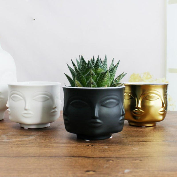 Emilia Six-Faced Planter - Unwindin