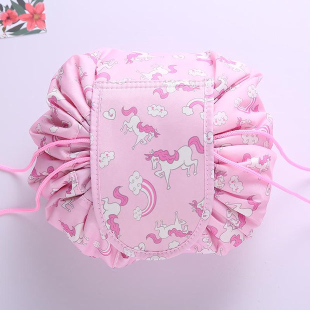 Emma Quick Drawstring Makeup Bag - Unwindin