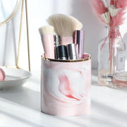 Ingrid Marble Brush Holder - Unwindin